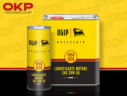 AGIP Novecento engine oil 20W-50 1 litre can