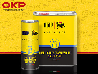 AGIP Novecento transmission oil 80W-90 1 litre can