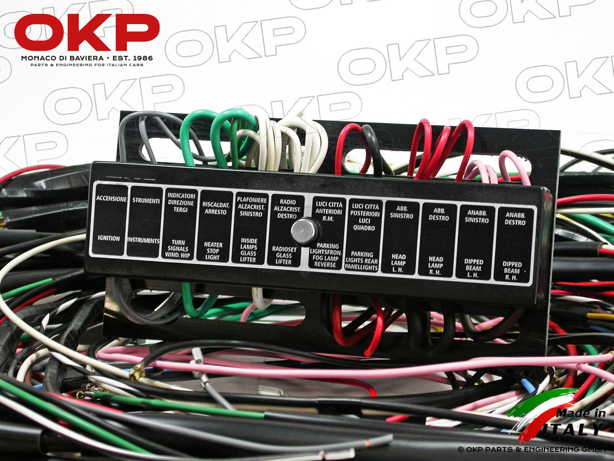 okp gmbhelectrical wire harness 2600 touring spider