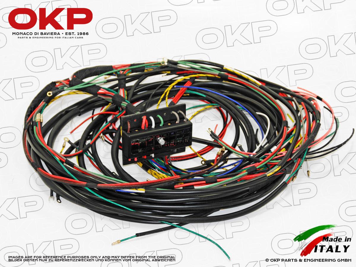Italian wiring harness auto electrical wiring diagram italian wiring harness wiring diagrams image free gmaili net rh gmaili net truck wiring harness wiring harness connector plugs cheapraybanclubmaster Images