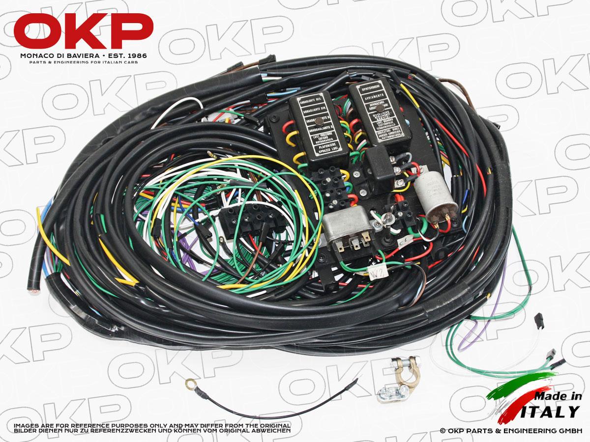 OKP GmbH Wire Harness Fuse Box on starter wire, gauge wire, breaker box wire, fuse remote wire, cable box wire, fuse cap wire,