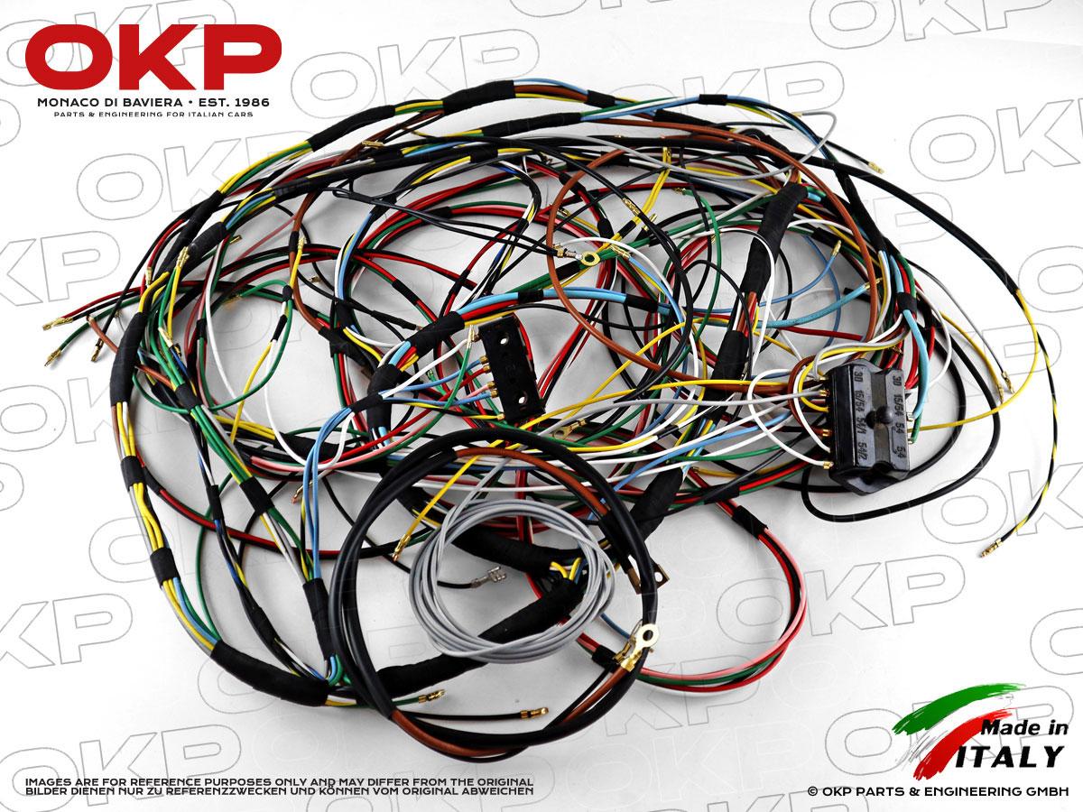 OKP GmbH | Spider Fiat Wire Harness |  | OKP GmbH