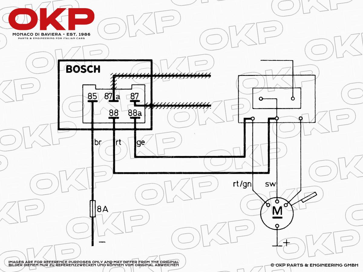 Schema Collegamento Motorino Tergicristallo : Okp parts and engineering gmbh