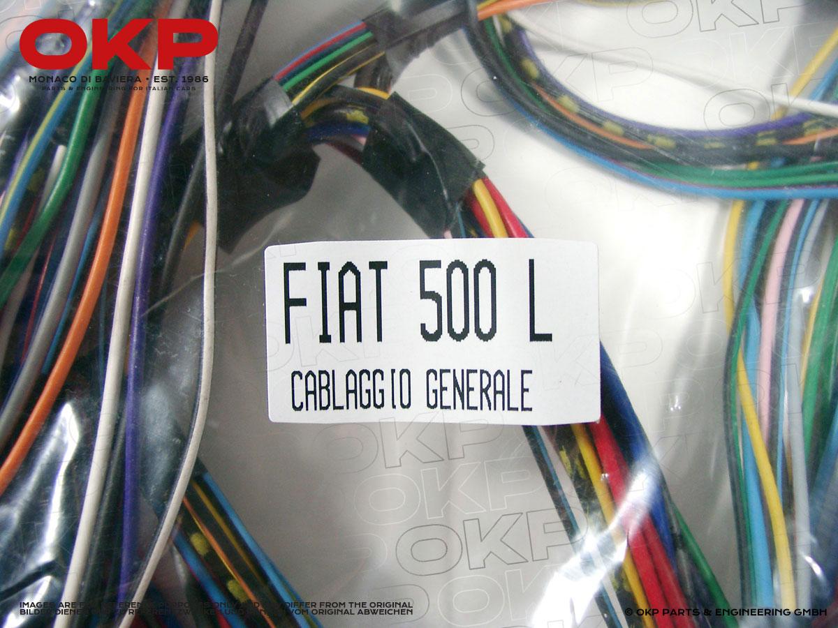 Fiat 500 Wiring Harnes