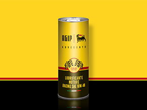 AGIP Novecento Racing engine oil 10W-40 1 litre can